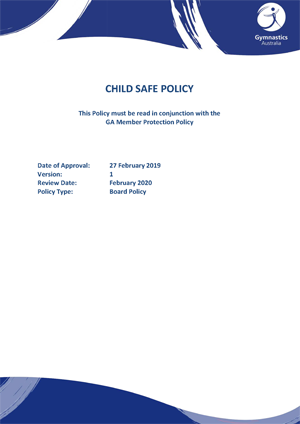 CHILD SAFE POLICY
